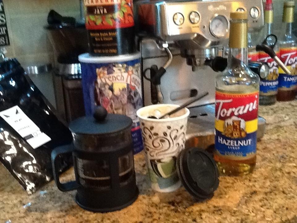 Rockin the ice coffee