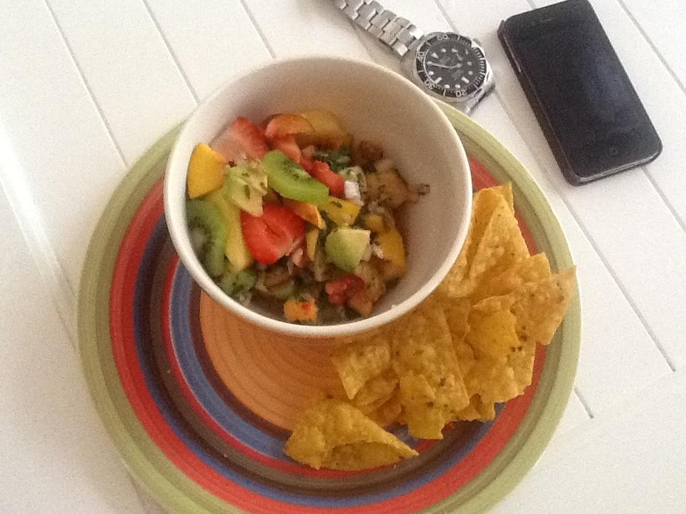 Tropical Fruit Salsa Darostyle