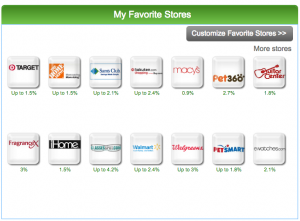 your favorite stores