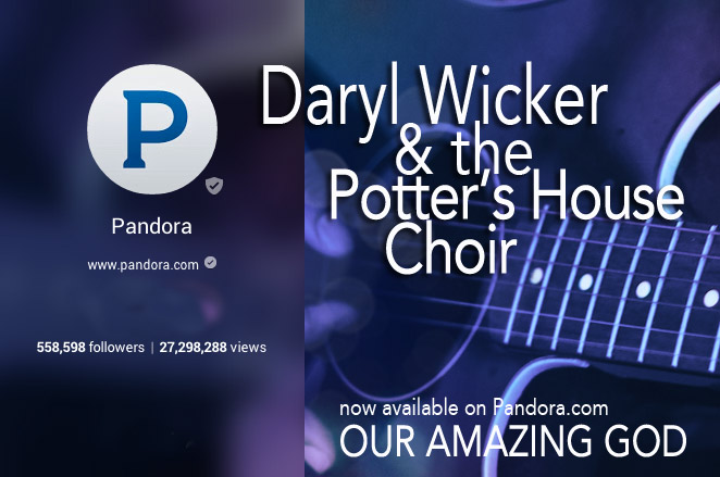 Pandora Radio now plays Daryl Wicker