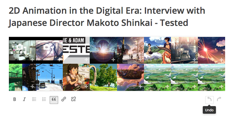 2D Animation in the Digital Era: Interview with Japanese Director Makoto Shinkai – Tested
