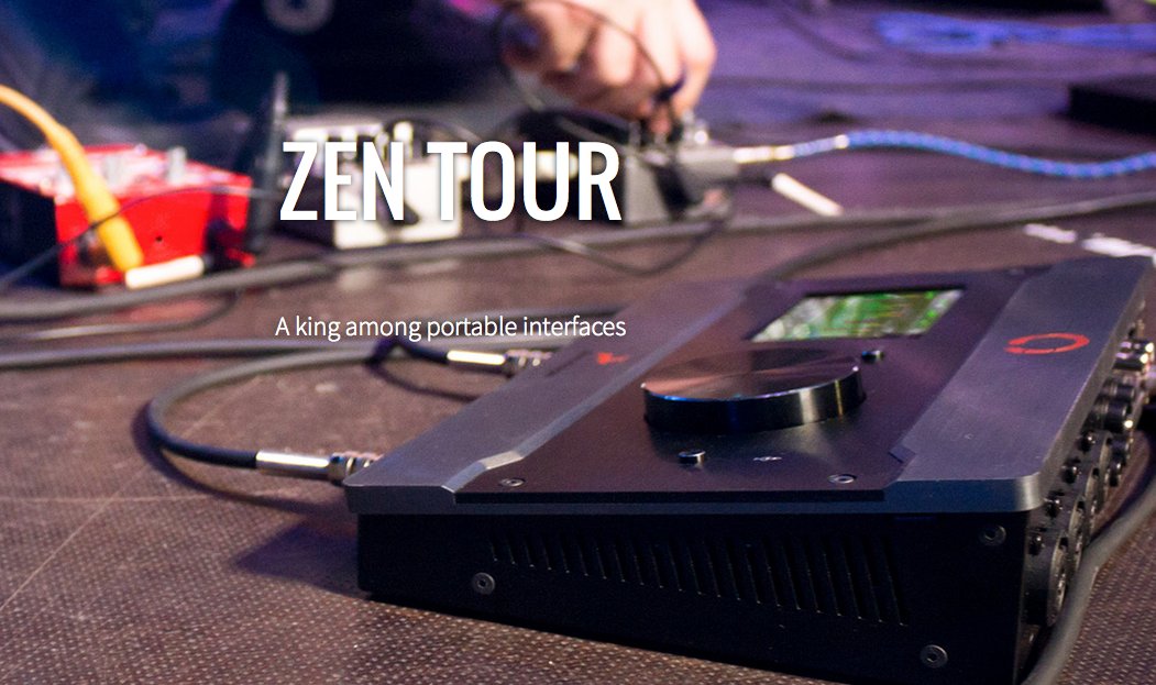 Zen Tour Audio Interface Powerhouse